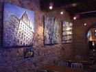 """Exposition de Toiles """"Just'unique"""" au Jazz bar """"Le Baryton"""" - Lyon - 2010"""